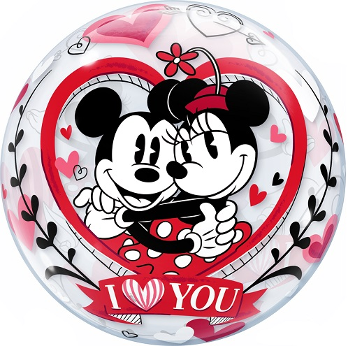 Bubble - MICKEY & MINNIE - I LOVE YOU
